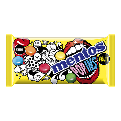 Mentos Popins Fruit