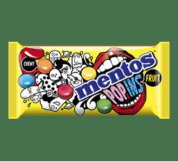 Mentos Popins Fruit