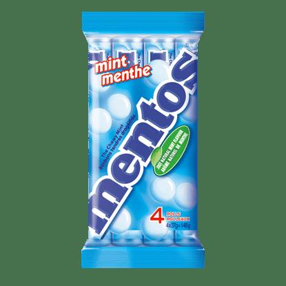 Mentos Chewy Mints Mint 4 Pack