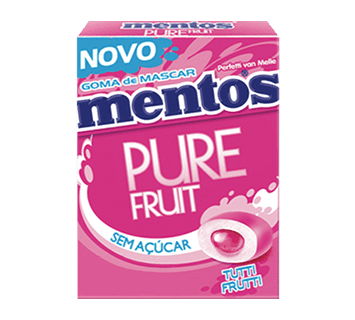 MENTOS - pure fruit- tutti frutti