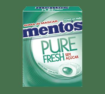 MENTOS PURE fresh- WINTERGREEN