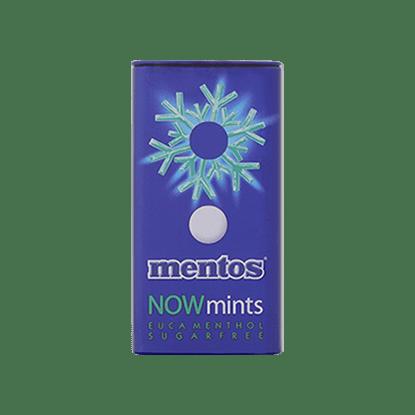 Mentos Now Mints Eucalyptus Menthol