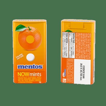Mentos NOWMints Orange