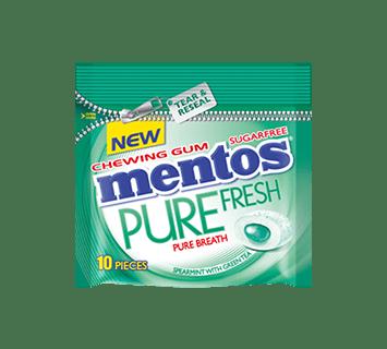 Mentos Pure Fresh Spearmint bag