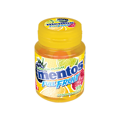 MENTOS GUM FULL FRUIT