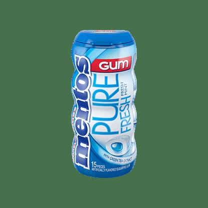Mentos Gum Menta 15 pzas