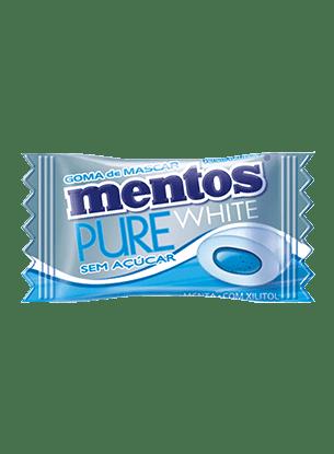 Mentos pure white