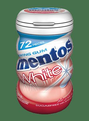 Mentos White Gum - Strawberry
