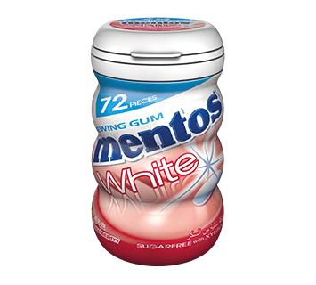 Mentos White Gum - Strawberry