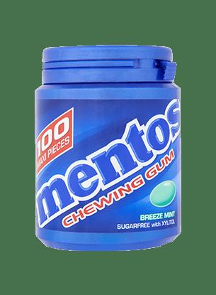 Mentos Gum Breeze Mint