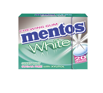 MENTOS KAUGUMMI WHITE GREEN MINT