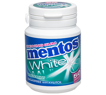 MENTOS KAUGUMMI WHITE BREEZE MINT