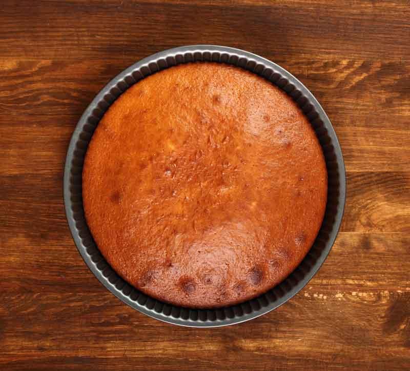 Рецепт быстрых коржей для торта