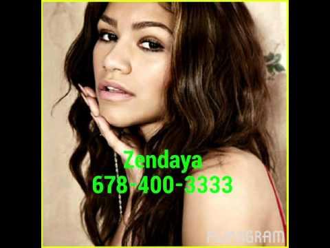 Disney channel celebrities phone numbers