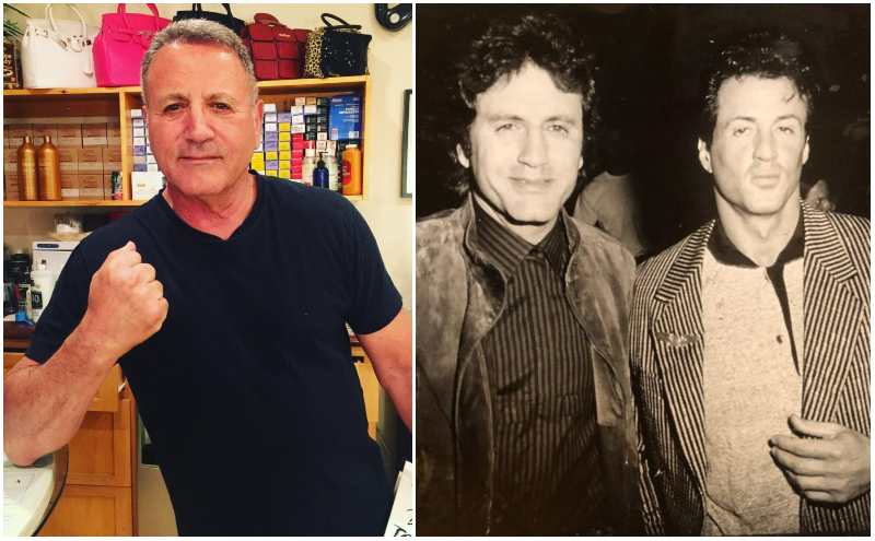 Sylvester Stallone's siblings - brother Frank Stallone Jr.
