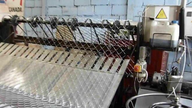 Собственное производство сетки рабицы