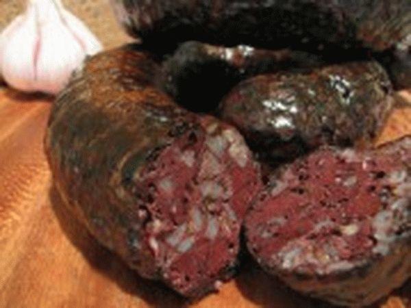 Рецепт домашней кровяной колбасы с гречкой