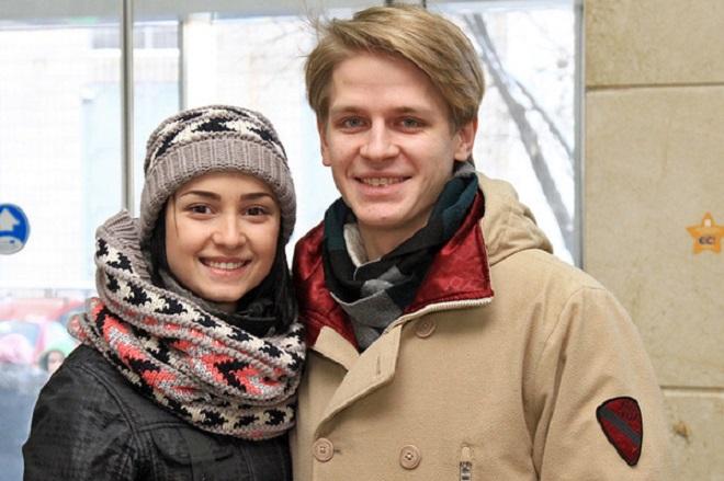 Елена Головань и Дмитрий Щебет