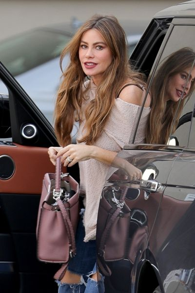"Sofia Vergara -""Was snapped in Beverly Hills"