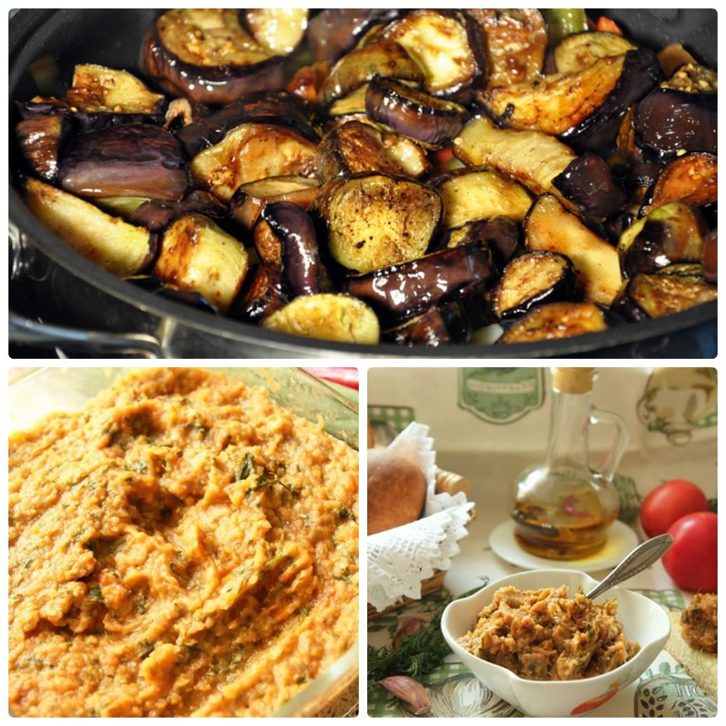 Рецепт икры из баклажан и кабачков на зиму