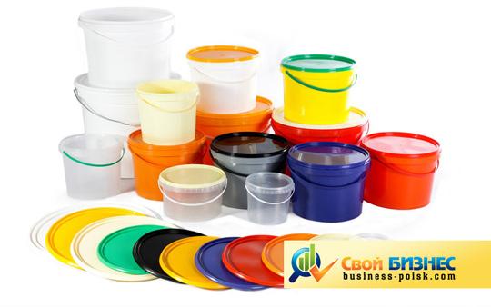 Изготовление ведер пластиковых