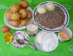 Картофельные зразы с мясом в духовке рецепт с фото