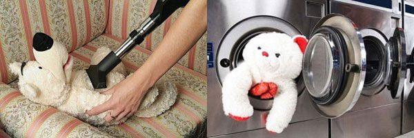 Чистка и стирка мягких игрушек
