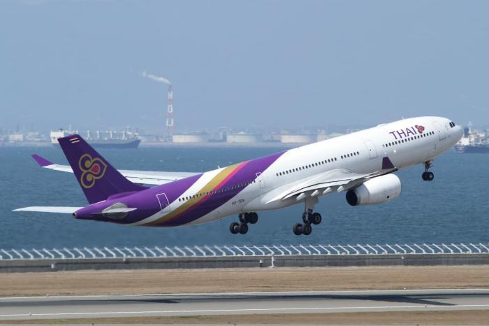 Время полета в таиланд