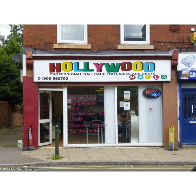 Hollywood nails dinnington