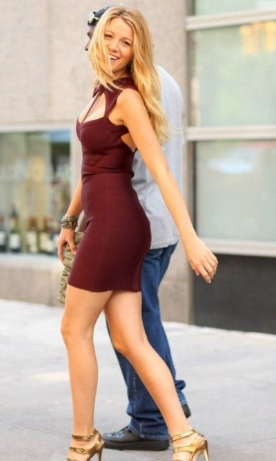 Blake lively bodycon dress