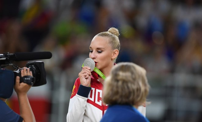 Яна Кудрявцева на ОИ-2016 в Рио