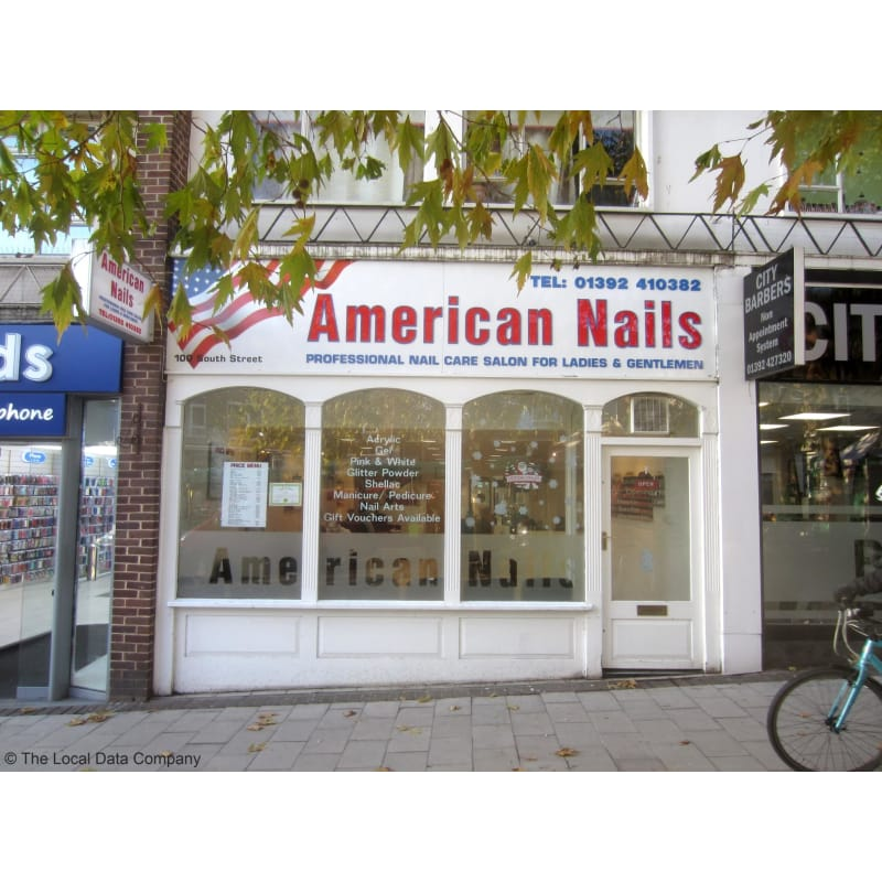American nails exeter