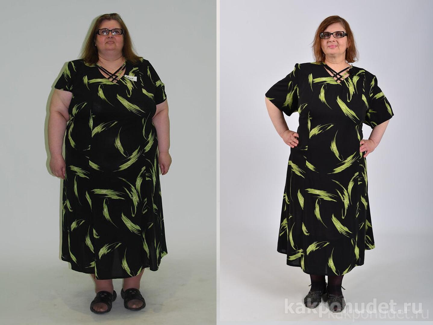 Истории похудения реальные с фото до и