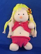 Sock Doll in Bikini Craft