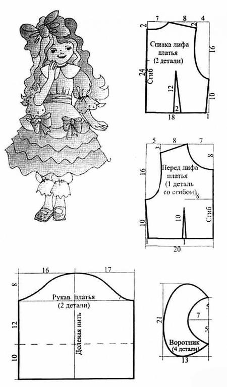 Мальвина и буратино костюм