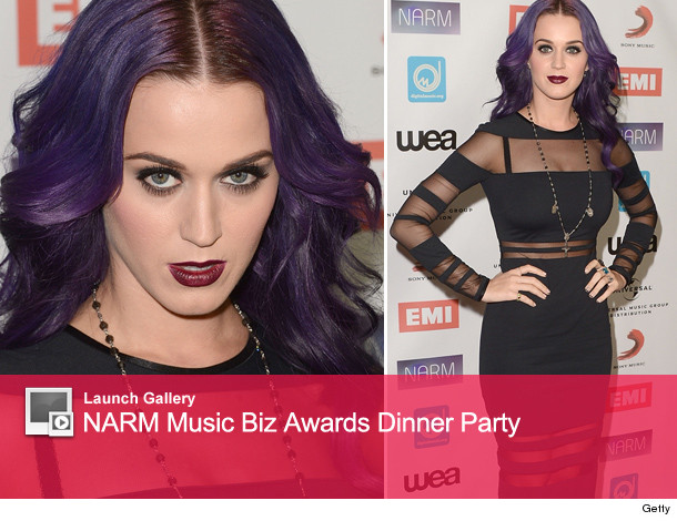 Katy perry goth look