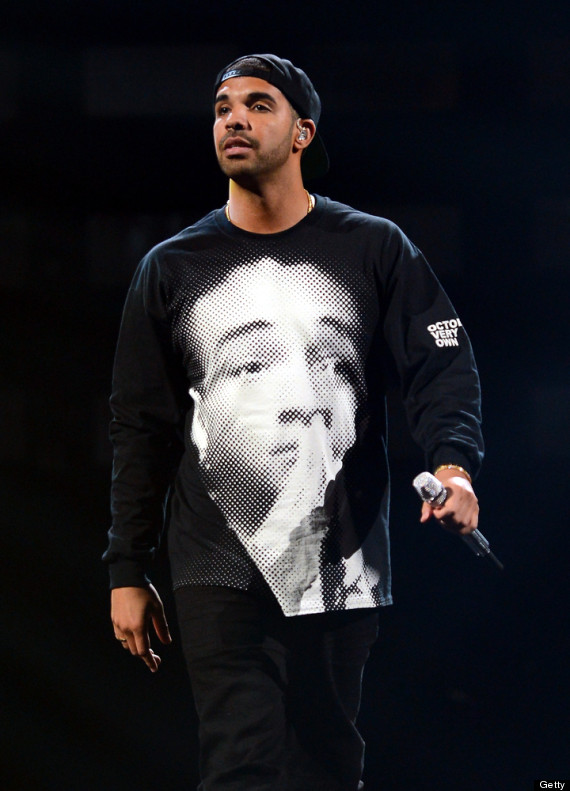 Drake wearing jaden smith shirt