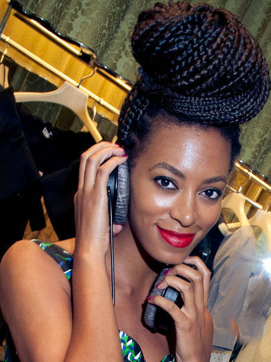 Solange knowles hairstyles