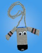Sock Dog iPod Holder Craft for Kids