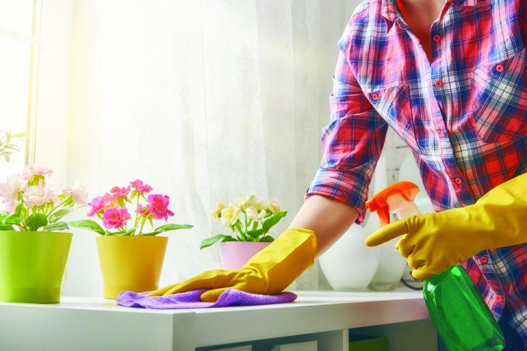 Как убрать в комнате за 5 минут