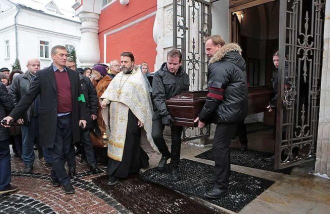 Похороны Андрея Давидяна