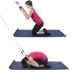 упражнений на растягивание с эспандером