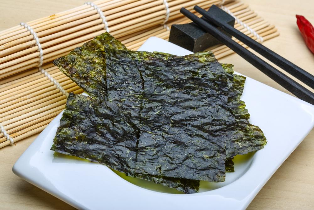 Польза водоросли нори