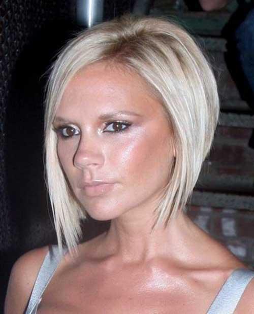Victoria beckham pixie cut blonde