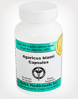 Agaricus blazei mushroom