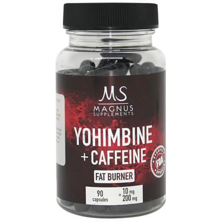 Caffeine-yohimbine