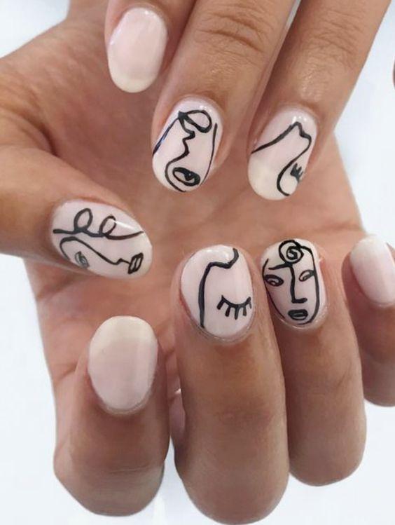 Nails face