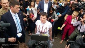 Герой Украины Надежда Савченко встала в очередь на биржу труда