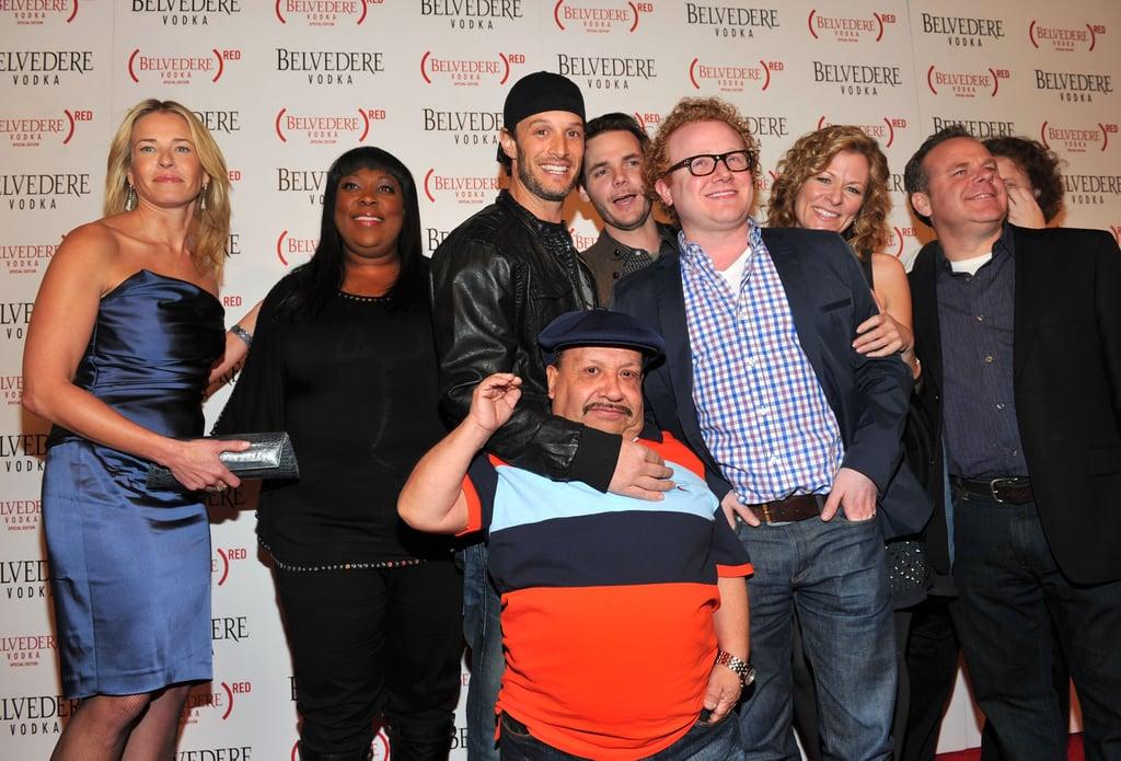 Chelsea handler show cast