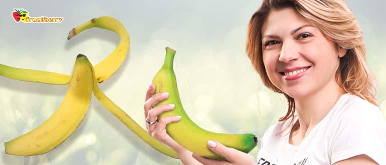 Сколько грамм в банане среднего размера